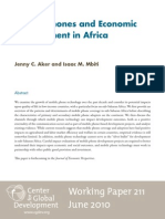 Aker, Jenny C e Mbiti, Isaac M - Mobile Phones and Economic Development in Africa