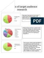 target audience analysis music