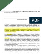 Proyecto de Ley Organica Modifica Codigo Penal[1]