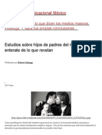Estudios Sobre Hijos de Padres Del Mismo Sexo, Enterate de Lo Que Revelan _ Guerrilla Comunicacional México