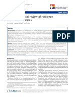 2007_A Methodological Review of Resilience