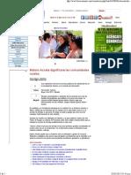 02-05-15 Maloro Acosta dignificará las comunidades rurales