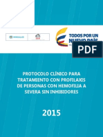 Protocolo Hemofilia Marzo 2015