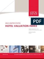 US Hotel Valuation Index