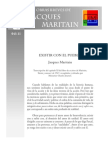 j.m Obras Breves Humanismo Existir Con El Pueblo