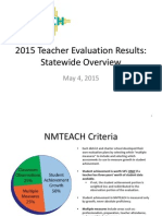 2015 NMTEACH Results Overview