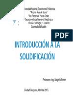 Solidificacion Tema 1 Parte Ix