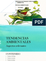 TENDENCIAS AMBIENTALES