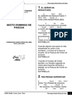 Coro Alba - Cancioner 5to Domingo de Pascua 2015