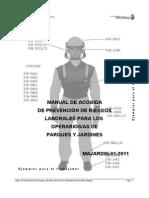 Manual de Acogida Parques y Jardines Majardin