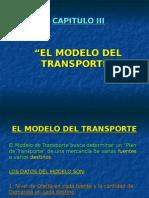 Cap.iii-El Modelo Del Transporte