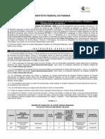 EDITAL IFPR - 2014