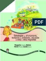 Armenta&Jacobo. 2010. Estrategias de Afrontamiento, Formación de Profesores y Educación de Niñas y Niños Migrantes