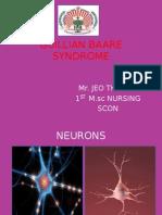 Guillian Baare Syndrome