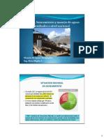 Tema 1. Saneamiento y Manejo de Aguas Residuales a Nivel Nacional