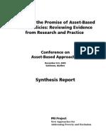 Asset Based Social Policies