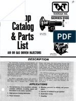 ChemInj Manufacturer Catalog Texstream5100