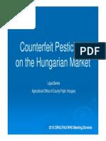 L Benke - Counterfeit Pesticides on the Hungarian Market [Kompatibilitätsmodus]