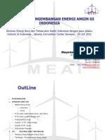 7 - Klaster Energi Angin (MEAI)