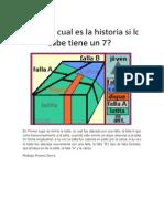 Trabajo de Geologia Estructural