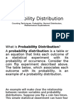 Probability Distribution(Report)