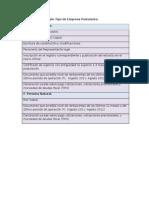 Documentación Según Tipo de Empresa Postulante