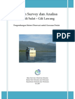 Laporan Survey Gili Sulat-lawang