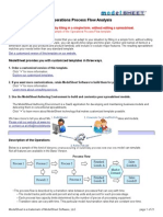 Operations Process Flow Analysis1