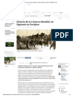 Crónicas de La Primera Guerra Mundial - Noticias de Europa - Mundo - ELTIEMPO II