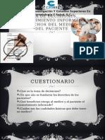 TOMA DE DECISIONES, CONSENTIMIENTO INFORMADO Y DERECHOS DEL MEDICO Y  DEL PACIENTE