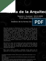 Analisis de La Forma (Le Corbusier) (Sintesis) Yeyson J. Guzman 2012-0699