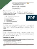Administracion de Las Operaciones I Clase TEC II, Plan 2010
