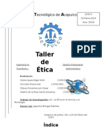 Taller de Etica