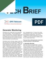 Generator Monitoring Tech Brief