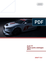 Audi Sport TT Cup Parts Catalogue