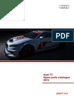 Audi Sport TT Cup Parts Catalogue