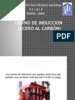 Horno de Inducción- acero al carbono