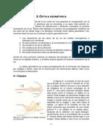 Fundamentos fisicos -Optica geometrica