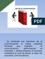 Brreras de La Comunicacion