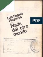 Luis Rogelio Nogueras - Nada Del Otro Mundo