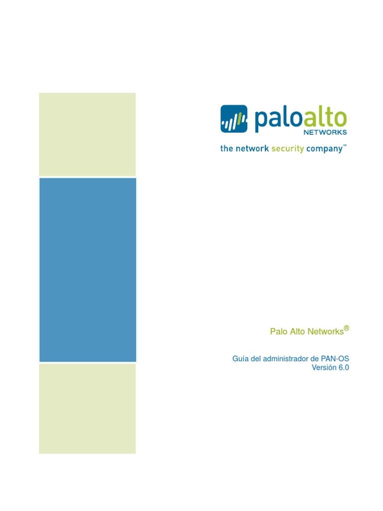 Guia de administración FW Palo Alto