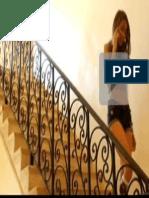 Modelo de Rejas en Escalera