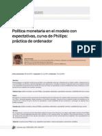Dialnet-PoliticaMonetariaEnElModeloConExpectativasCurvaDeP-3090660