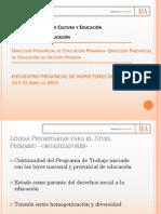 Presentación Lineas Del Nivel Distribución