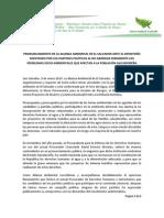 01 Comunicado de Prensa Alianza Ambiental 09-01-2014.pdf