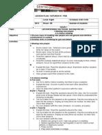 Lesson Plan Passages Unit1 Lesson B Format SATURDAY