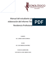 Manual Informe Tecnico-residencia profesional
