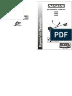 Manual Rocadeira L260 340 430Z