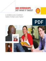Shell Internship Brochure