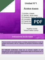 Acidos y Bases Débiles.